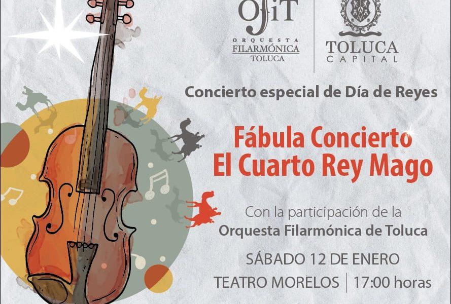 """Inicia OFiT el 2019 con espectacular """"Fábula Concierto El Cuarto Rey ..."""